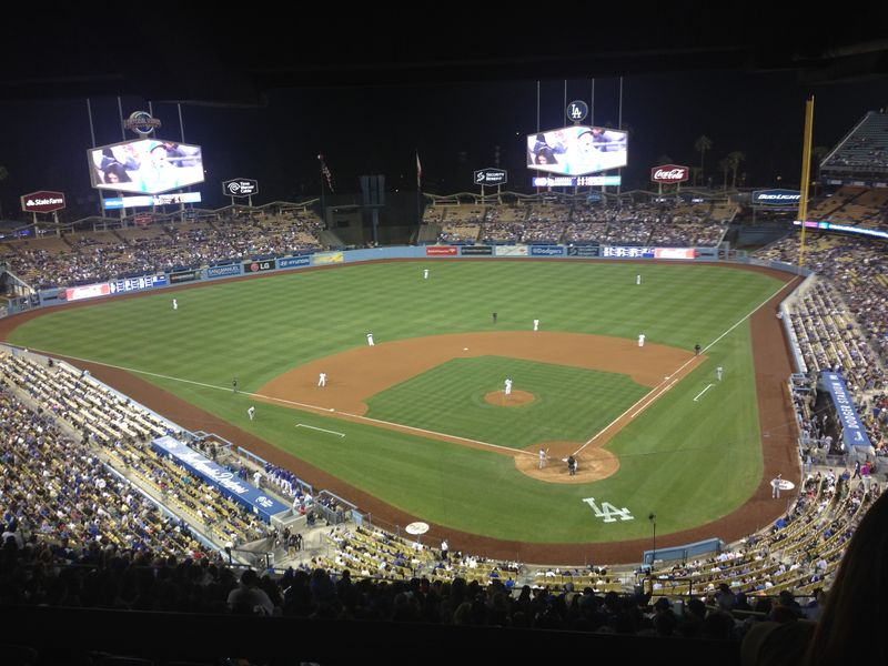 2014 Dodger Blog vs Colorado game 3 Kershaw No Hitter pic 5