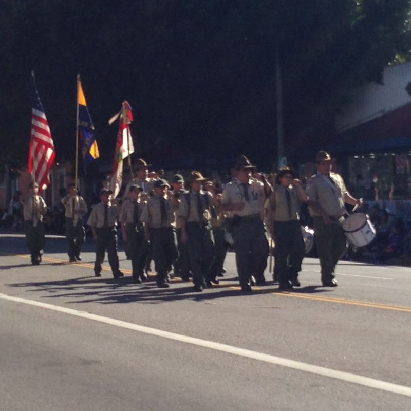Echo Park Holiday Parade pic 45 Local Boy Scouts Troop 121 pic 1