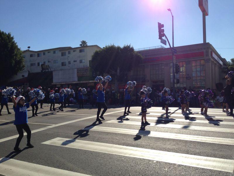 Echo Park Holiday Parade Allesandro Elementary pic 1