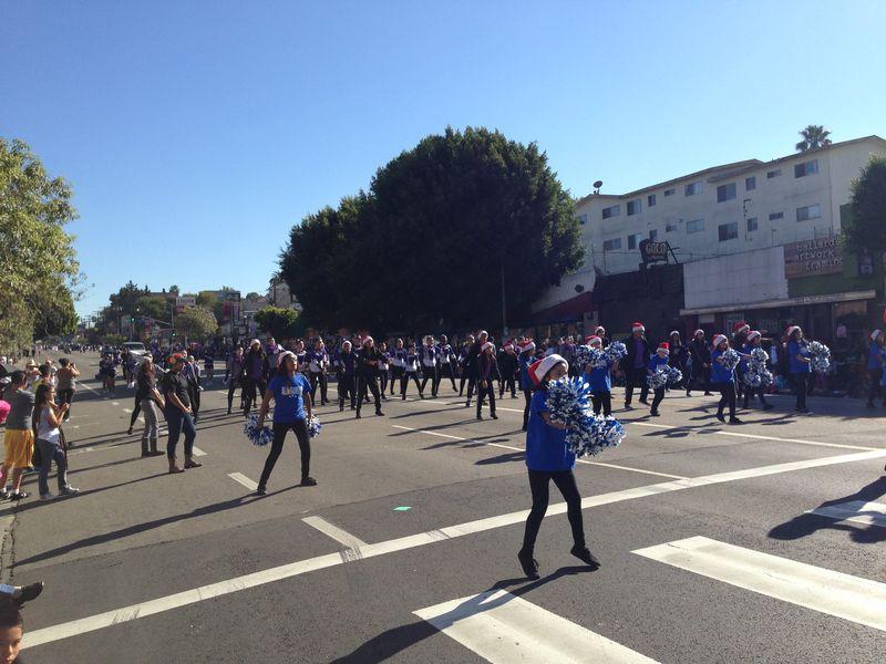Echo Park Holiday Parade Allesandro Elementary pic 3