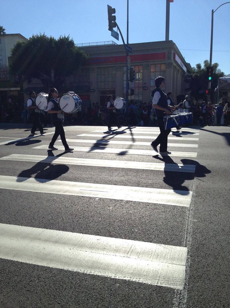 Echo Park Holiday Parade Marshall Band 2
