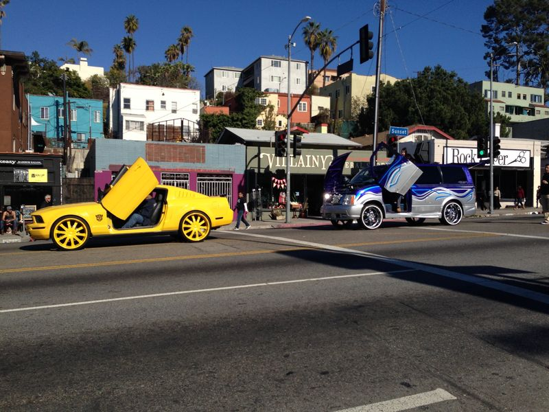 Echo Park Holiday Parade Griffith Miggle School and Cars pic 2