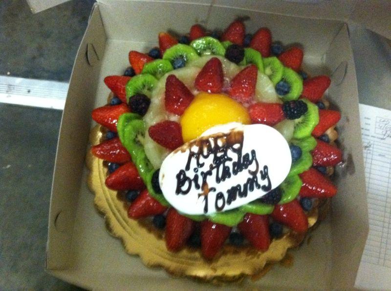 2013 Dodger Blog Tommys Cake