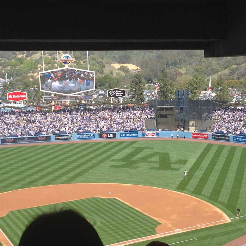 2014 Dodger Blog Opening Day pic 14