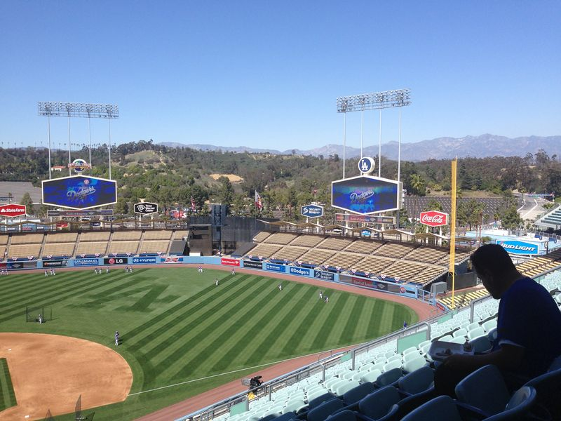 2014 Dodger Blog Opening Day pic 28