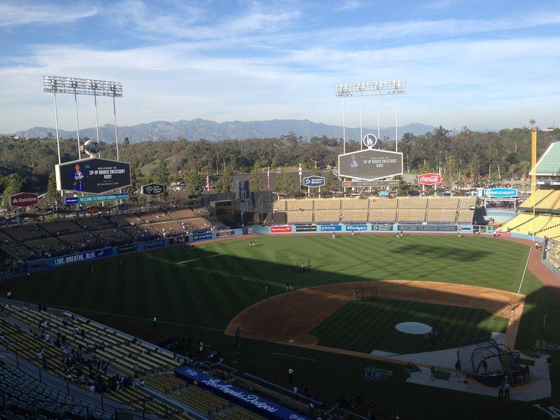 2014 Dodger Blog Hoodie vs Tigers pic 5