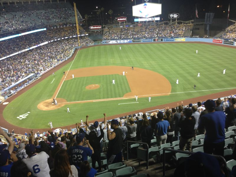 2014 Dodger Blog vs Colorado game 3 Kershaw No Hitter pic 9