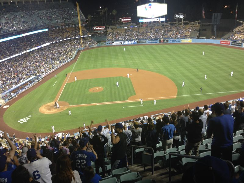 2014 Dodger Blog vs Colorado game 3 Kershaw No Hitter pic 10