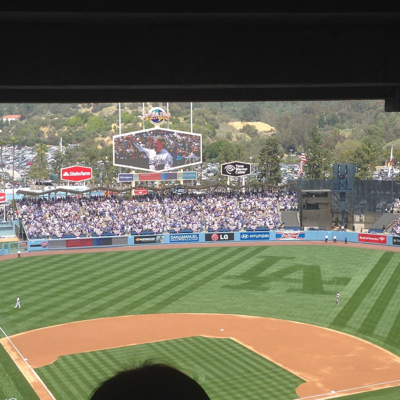 2014 Dodger Blog Opening Day pic 16