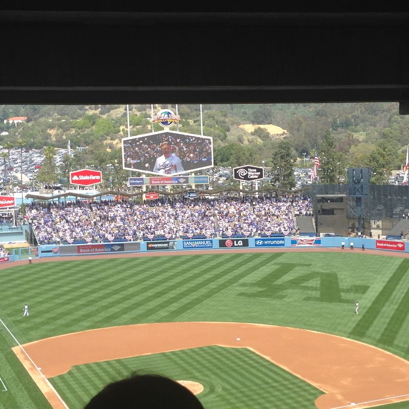 2014 Dodger Blog Opening Day pic 17
