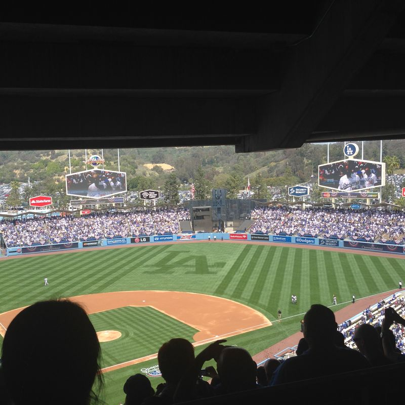 2014 Dodger Blog Opening Day pic 19