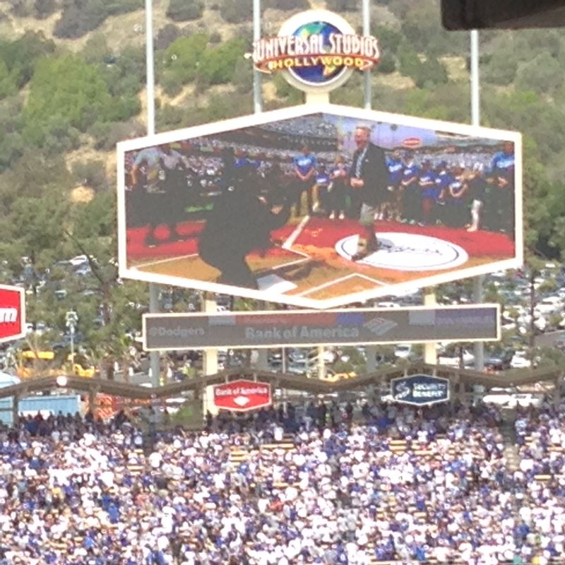 2014 Dodger Blog Opening Day pic 21