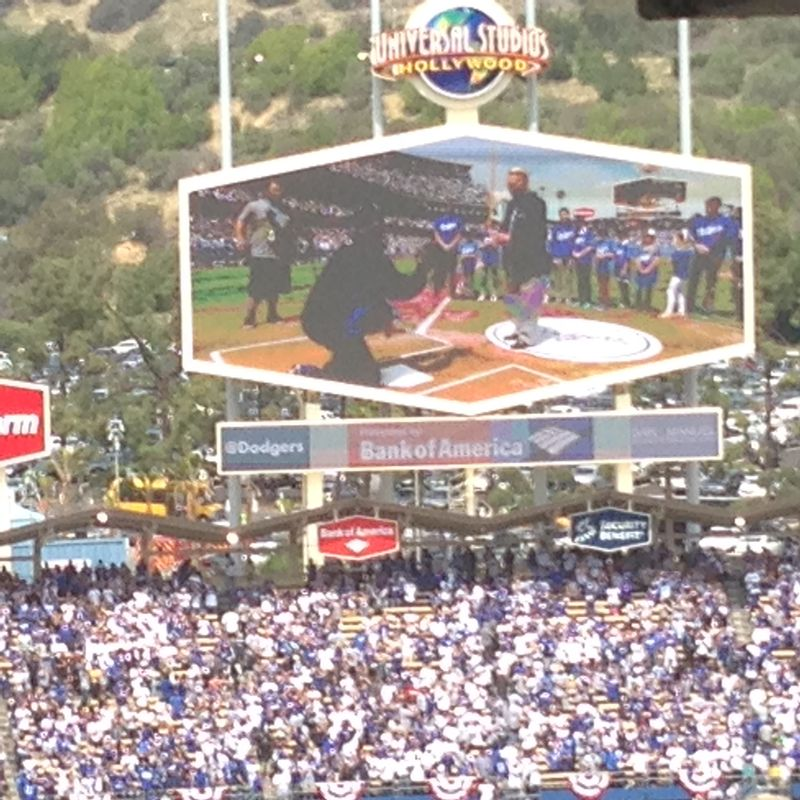 2014 Dodger Blog Opening Day pic 22