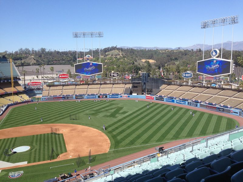2014 Dodger Blog Opening Day pic 27
