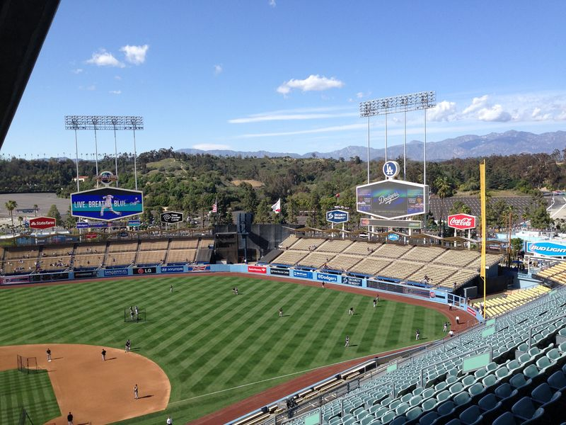 2014 Dodger Blog vs Rockies game 1 pic 1