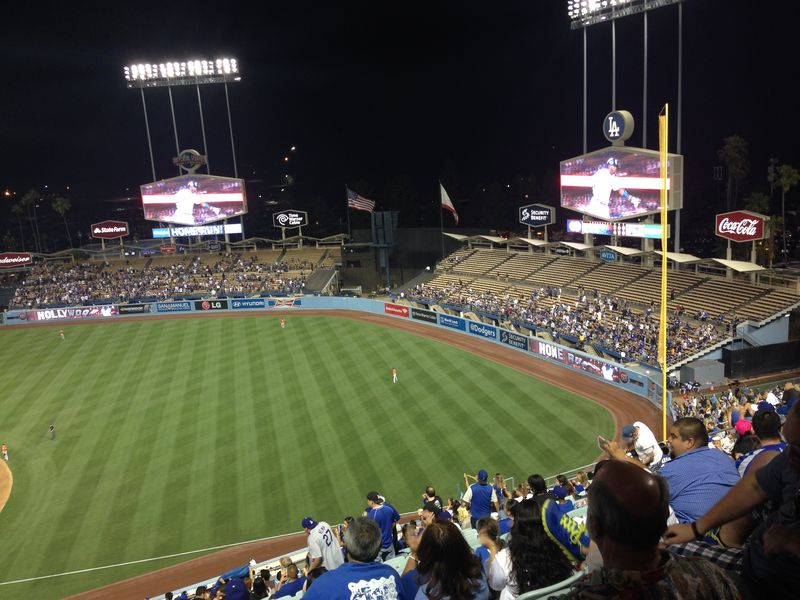 2014 Dodger Blog vs Miami Game 1 Pic 9
