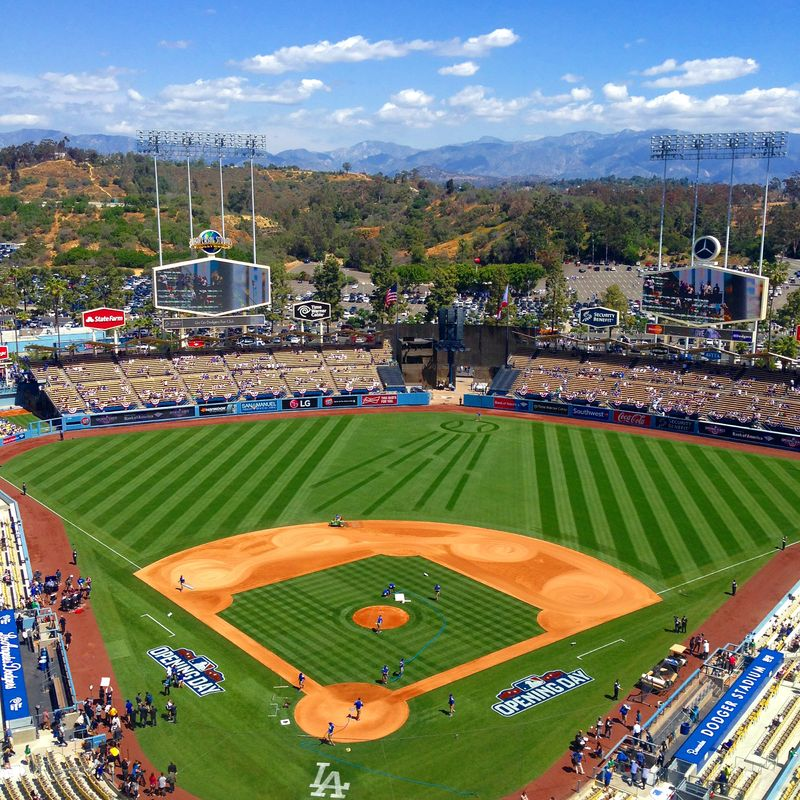 2015 Opening Day Dodger Stadium Blog pic 5