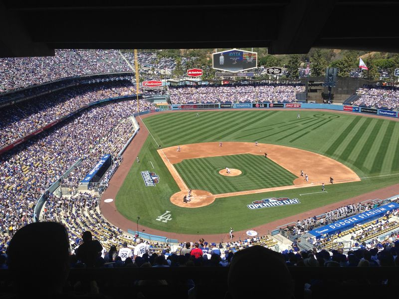 2015 Opening Day vs Padres pic 9