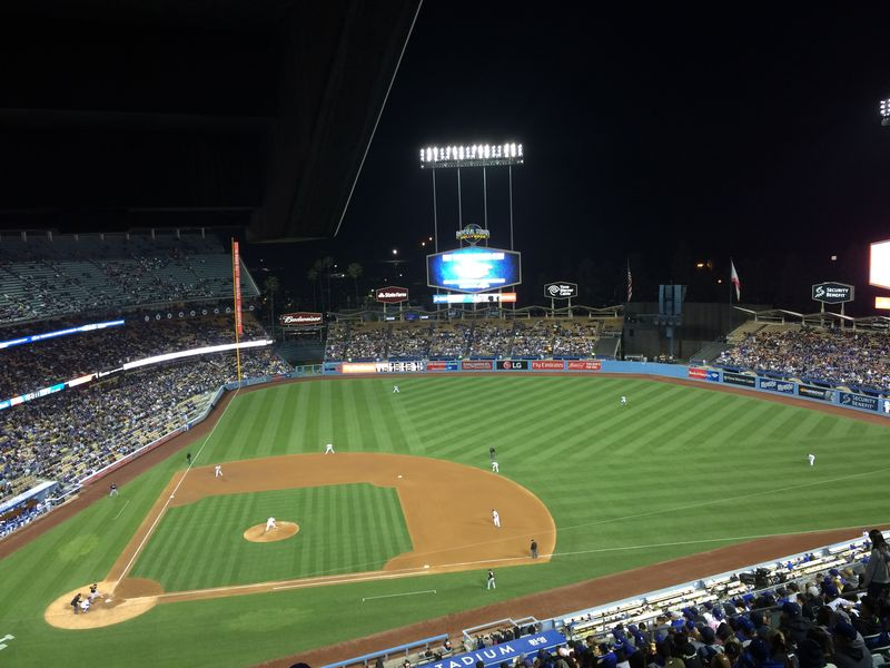 2016 Dodger Blog vs Miami Dee vs Kershaw 4