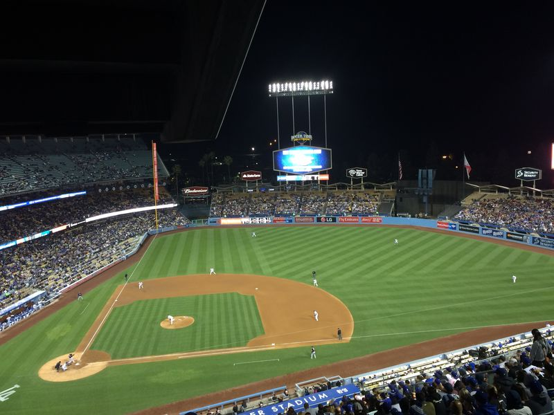 2016 Dodger Blog vs Miami Dee vs Kershaw 6