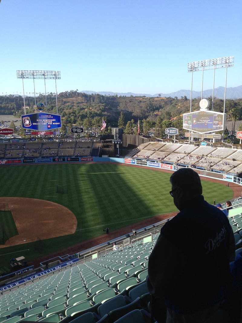2015  Dodger Stadium Blog love letters  pic 2
