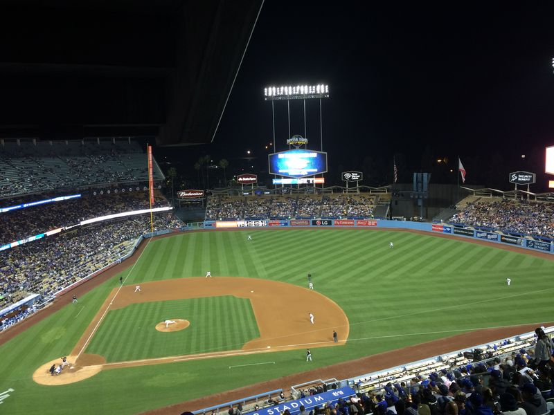 2016 Dodger Blog vs Miami Dee vs Kershaw 5