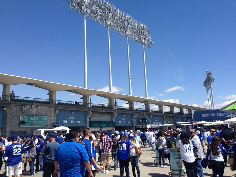 2015 Opening Day Dodger Stadium Blog pic 3