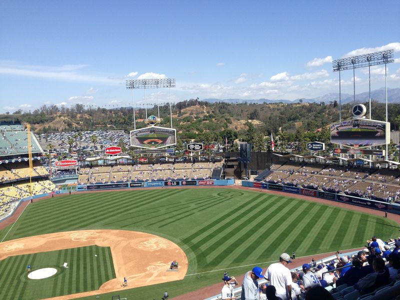 2015 Opening Day Dodger Stadium Blog pic 4