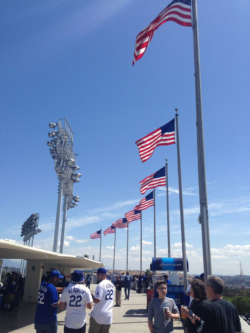 2015 Opening Day vs the padres pic 6