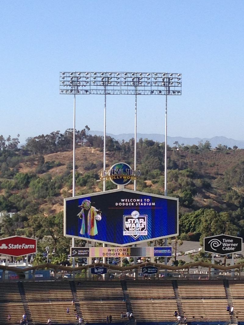 2015  Dodger Stadium Blog love letters  pic 3