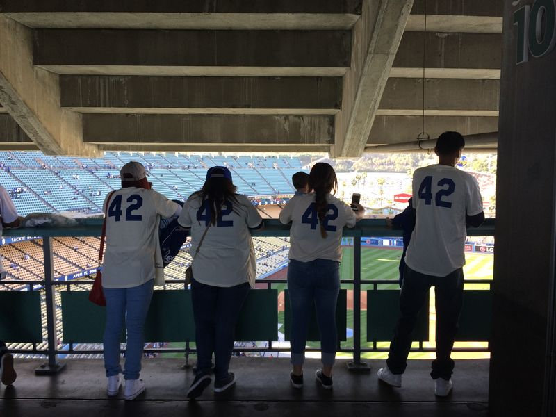 2016 Dodger Blog Jackie Robinson Day 2