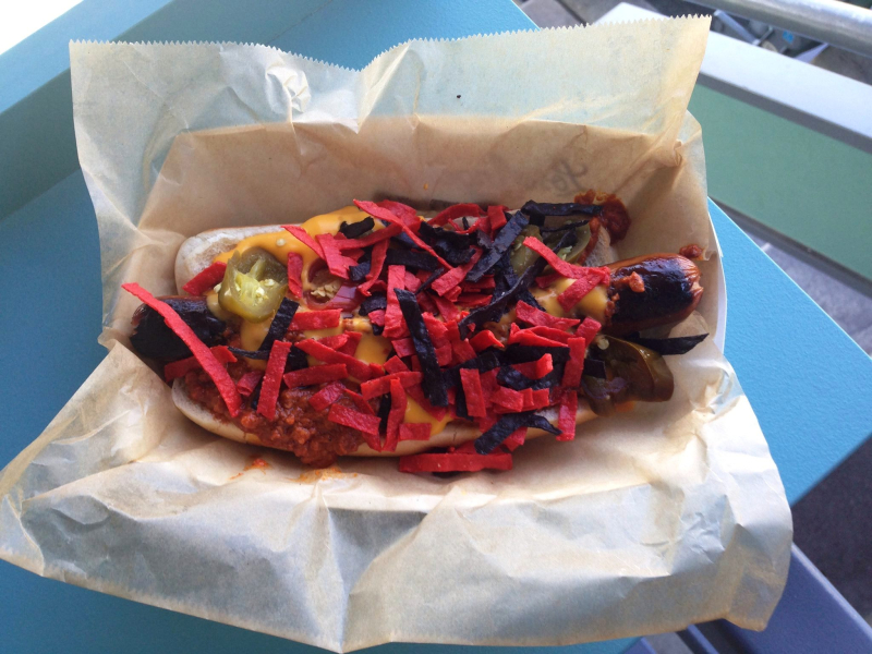 Dodger Dog Retrospective and Reviews pic 11 The Arizona Snake Bite Dog